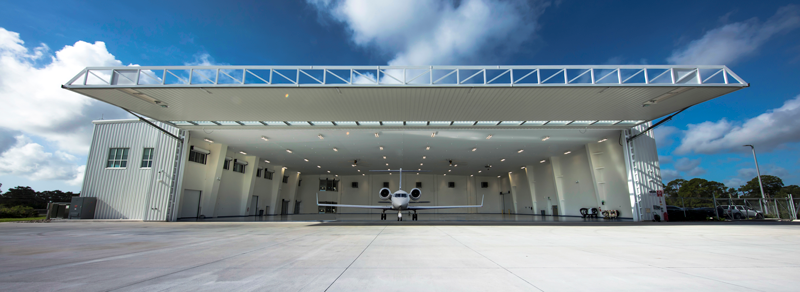 SD Entry into Service Hangar