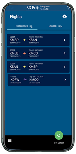 SD Crew app screenshot