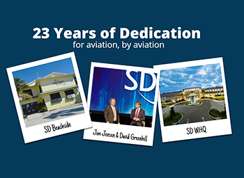 23 Years of Dedication for aviation, by aviation