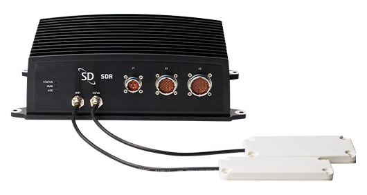 SDR with SD Wideband Antenna